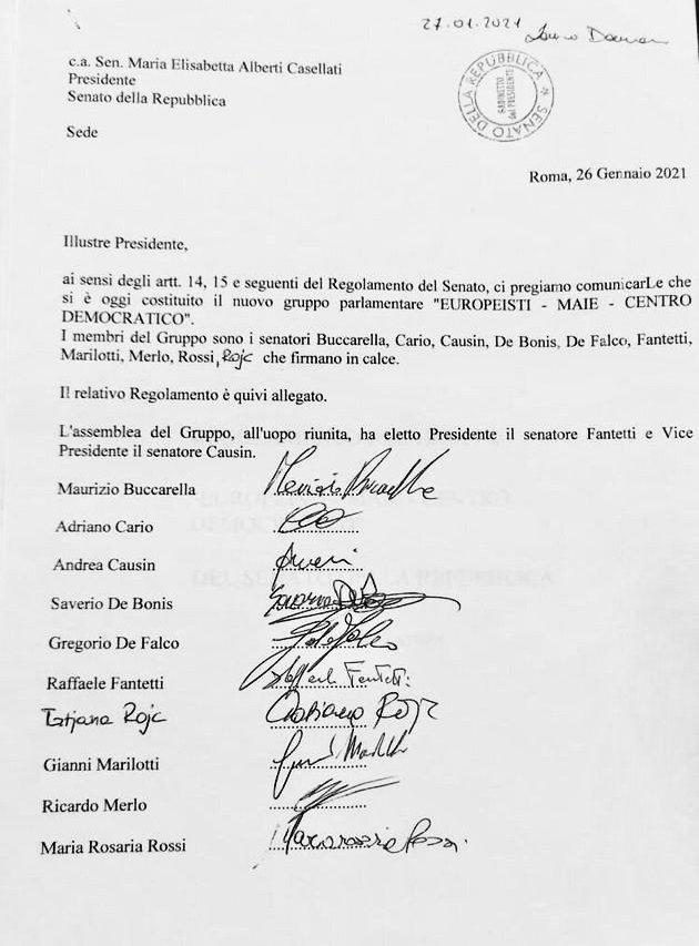 gruppo europeisti meie centro democratico